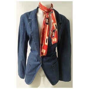 Vintage Jean Blazer Size Medium